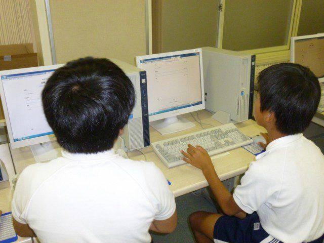 加西市立日吉小学校 » 5年生 新聞作成アプリに挑戦